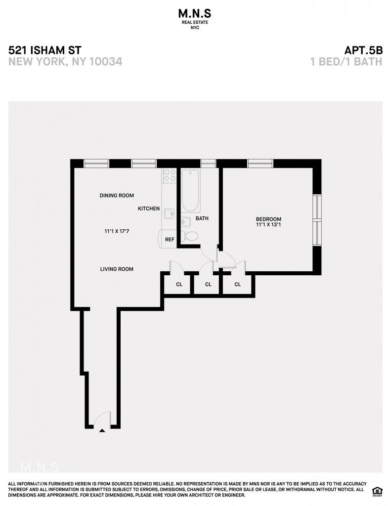 521 Isham Street Inwood New York NY 10034